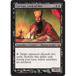 Cao Cao Foil new MTG FtV Legends Magic Lord of Wei