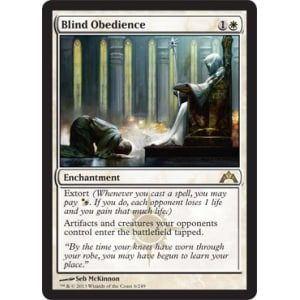 Blind Obedience