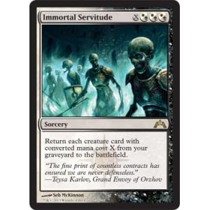 Immortal Servitude