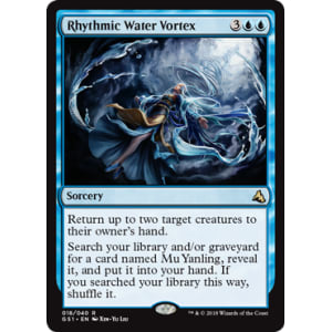 Rhythmic Water Vortex
