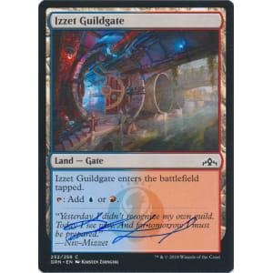 Izzet Guildgate Signed by Kirsten Zirngibl (252)