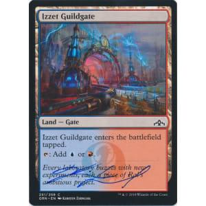 Izzet Guildgate Signed by Kirsten Zirngibl (251)