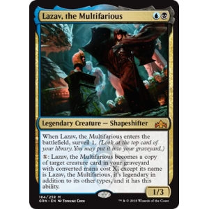 Lazav, the Multifarious