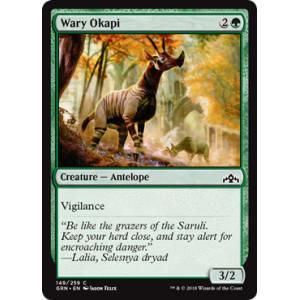 Wary Okapi