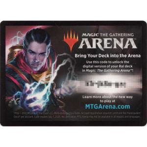 MTG Arena Code Card - Ral Planeswalker Deck