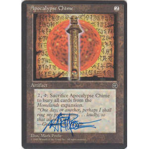 Apocalypse Chime Signed by Mark Poole