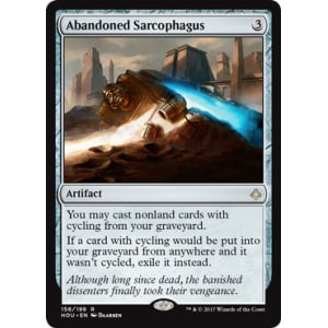 Abandoned Sarcophagus