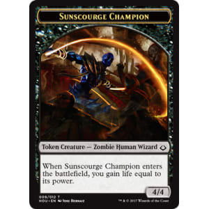 Sunscourge Champion (Token)