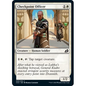 Checkpoint Officer