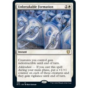 Unbreakable Formation
