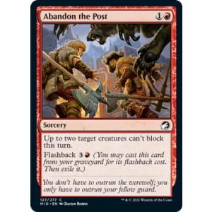 Abandon the Post