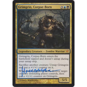 Grimgrin Corpse Born Signed By Peter Mohrbacher