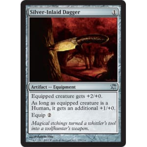 Silver-Inlaid Dagger
