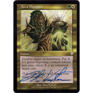 Aura Mutation Signed by Pete Venters