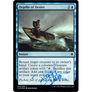 Depths of Desire FOIL Signed by John Stanko