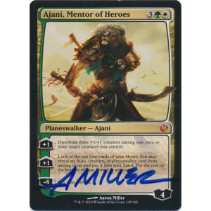Ajani, Mentor of Heroes Signed by Aaron Miller