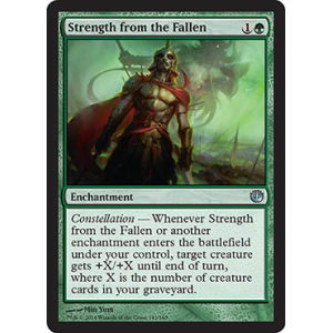 Strength from the Fallen