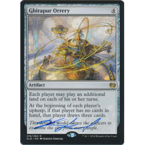 Ghirapur Orrery Signed by Kirsten Zirngibl