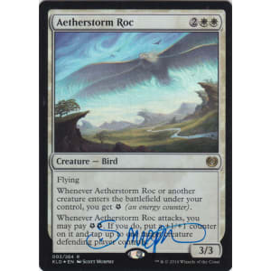 Aetherstorm Roc FOIL Signed by Scott Murphy