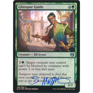 Ghirapur Guide FOIL Signed by Scott Murphy