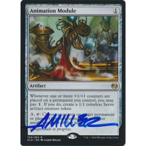 Animation Module Signed by Aaron Miller (Kaladesh)