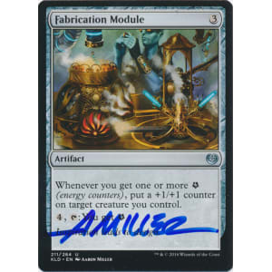 Fabrication Module Signed by Aaron Miller (Kaladesh)