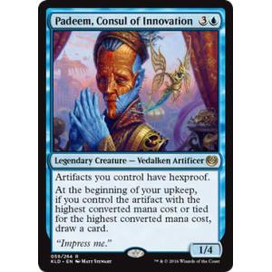 Padeem, Consul of Innovation