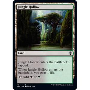 Magic foil * Core Set 2020 The Gathering Jungle Hollow