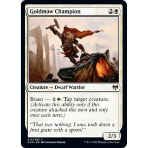 Goldmaw Champion