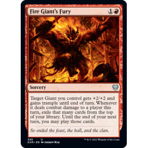 Fire Giant's Fury