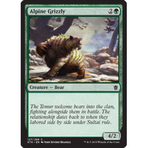 Alpine Grizzly