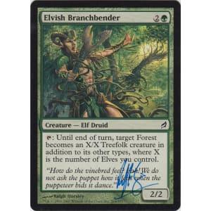 Elvish Branchbender Signed by Ralph Horsley