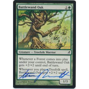 Battlewand Oak Signed by Steve Prescott
