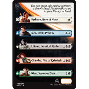 Magic Origins Checklist Card
