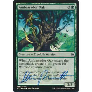 Ambassador Oak FOIL Signed by Steve Prescott