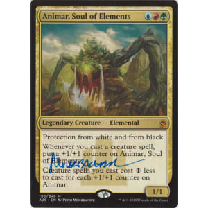 Animar, Soul of Elements Signed by Peter Mohrbacher