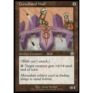 Crenellated Wall