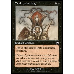 Soul Channeling You can add the channeling enchantment on a trident using an anvil, game command, or enchantment table. soul channeling