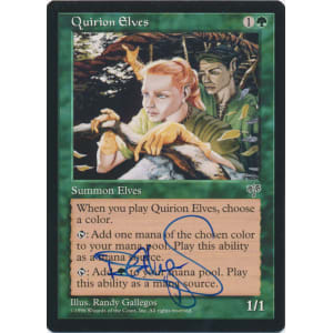 Quirion Elves Signed by Randy Gallegos (Mirage)