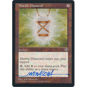 Marble Diamond Signed by Jeff Miracola (Mirage)