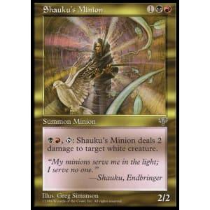 Shauku's Minion