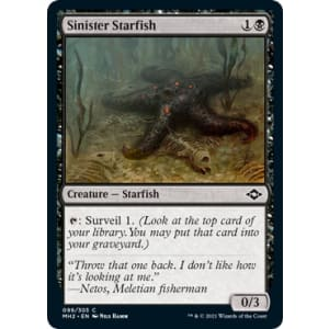 Sinister Starfish