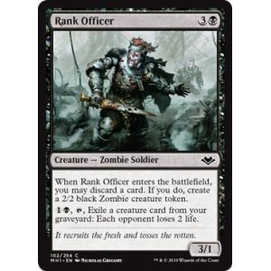 Rank Officer