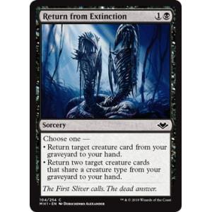 Return from Extinction