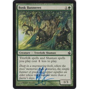Bosk Banneret Signed by Ralph Horsley