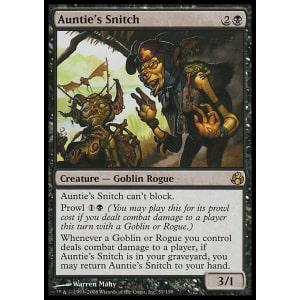 Auntie's Snitch