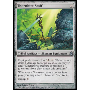Thornbite Staff