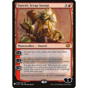 Daretti, Scrap Savant