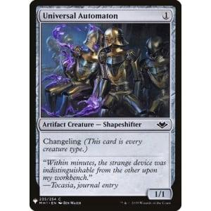 Universal Automaton