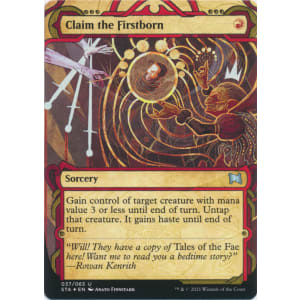 Claim the Firstborn (Foil-etched)